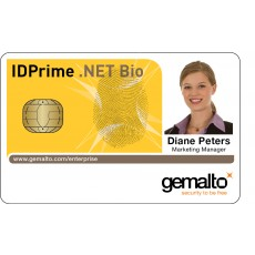 IDPrime .NET 5501 - Biometric Card with MIFARE Classic® 4K contactless option